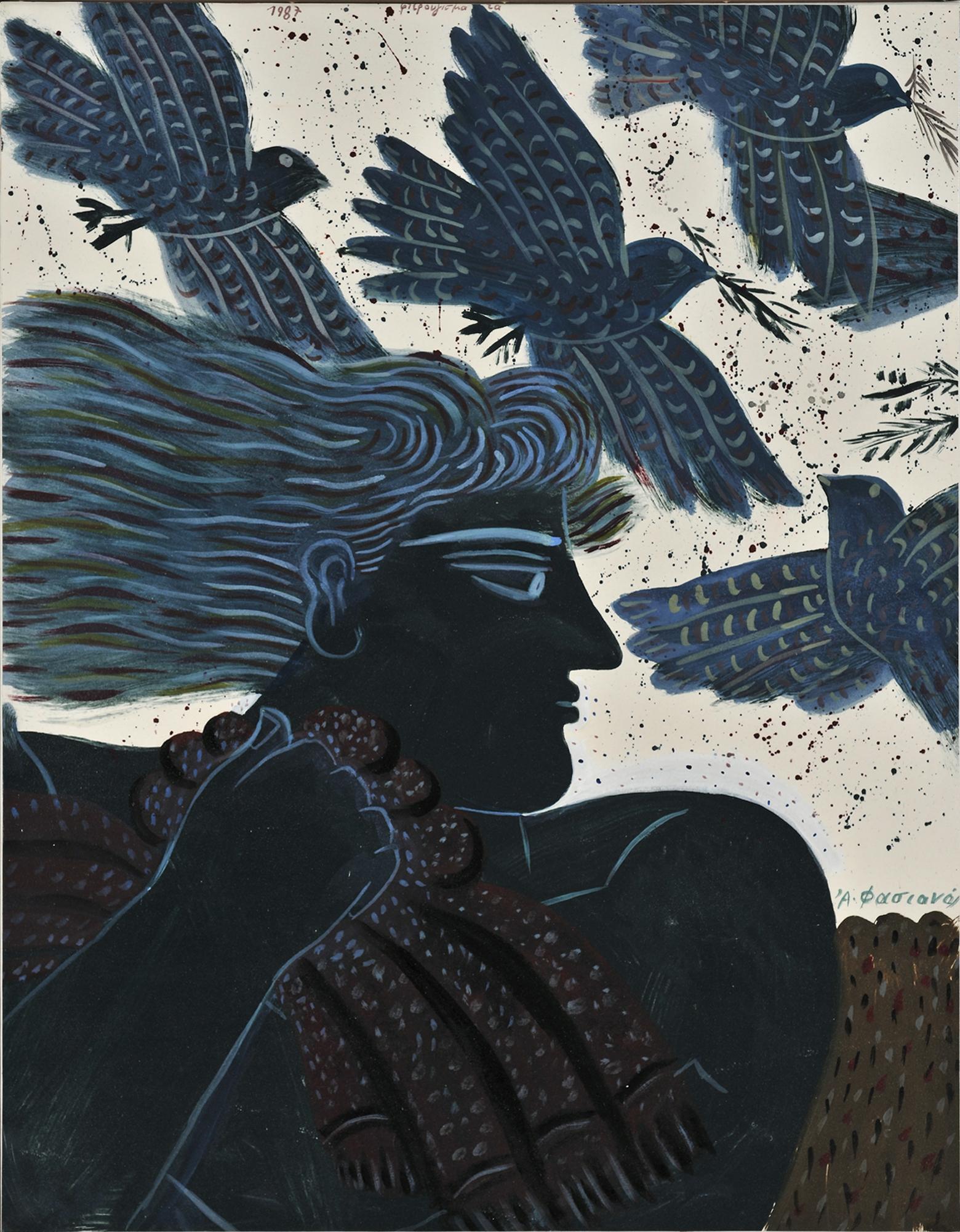 Fasianos Alekos-Birds flying