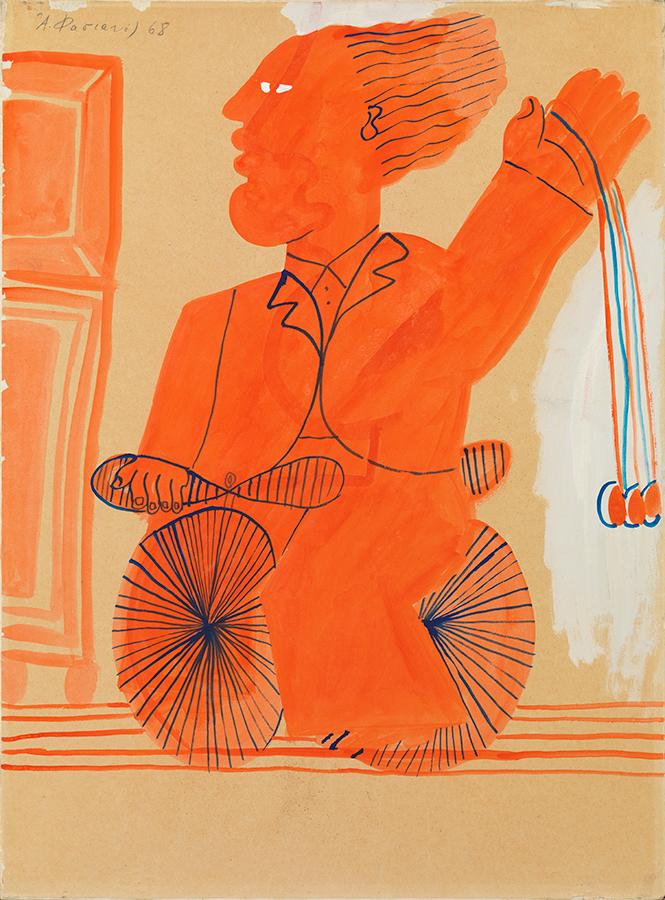 Fasianos Alekos-Ancient Cyclist