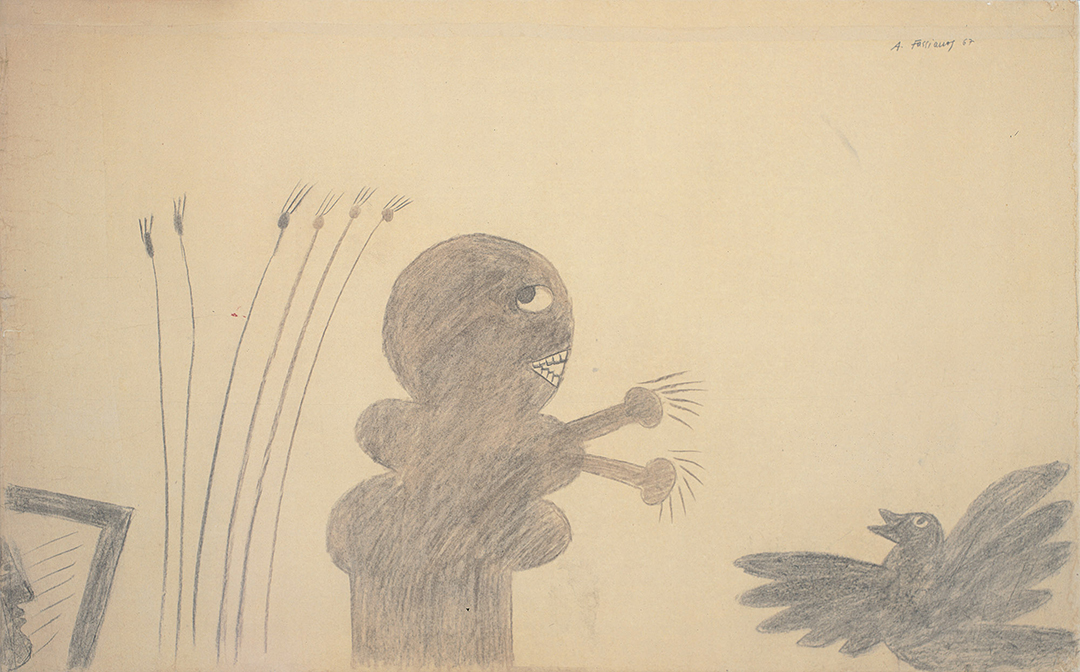Fasianos Alekos-The ghost and the hen