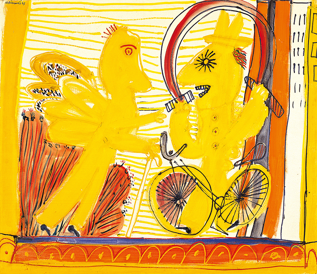 Fasianos Alekos-Ο άγγελος του ποδηλάτη