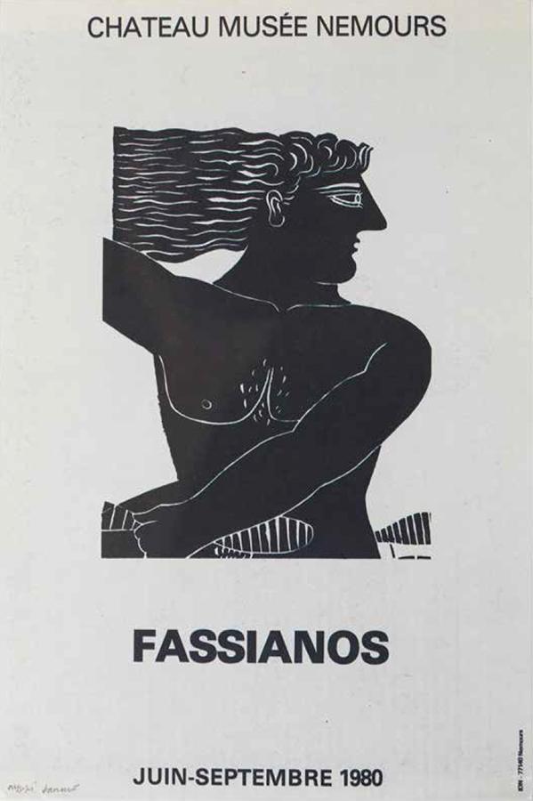 Fasianos Alekos-Έκθεση στο Chateau Musee Nemours