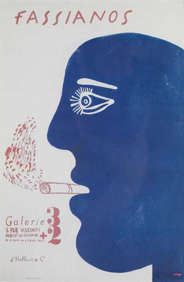 Fasianos Alekos-Πρώτη έκθεση στο Παρίσι