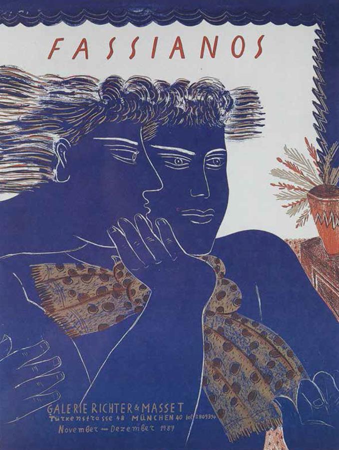 Fasianos Alekos-Έκθεση στο Μόναχο