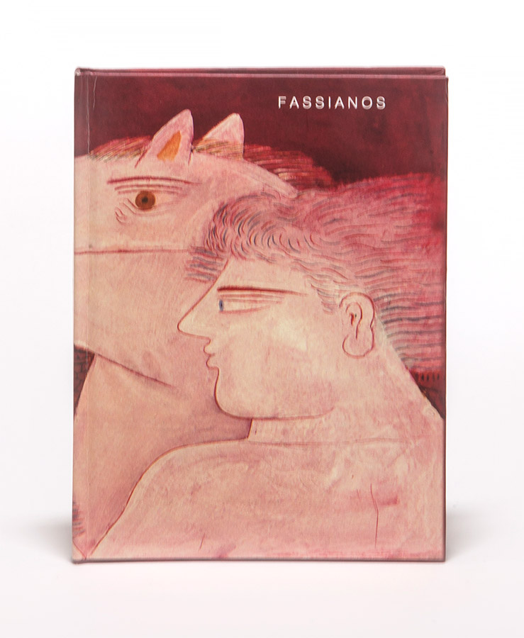 Fasianos Alekos-Έντυπος καταλογος εκθεσης στο Παρισι
