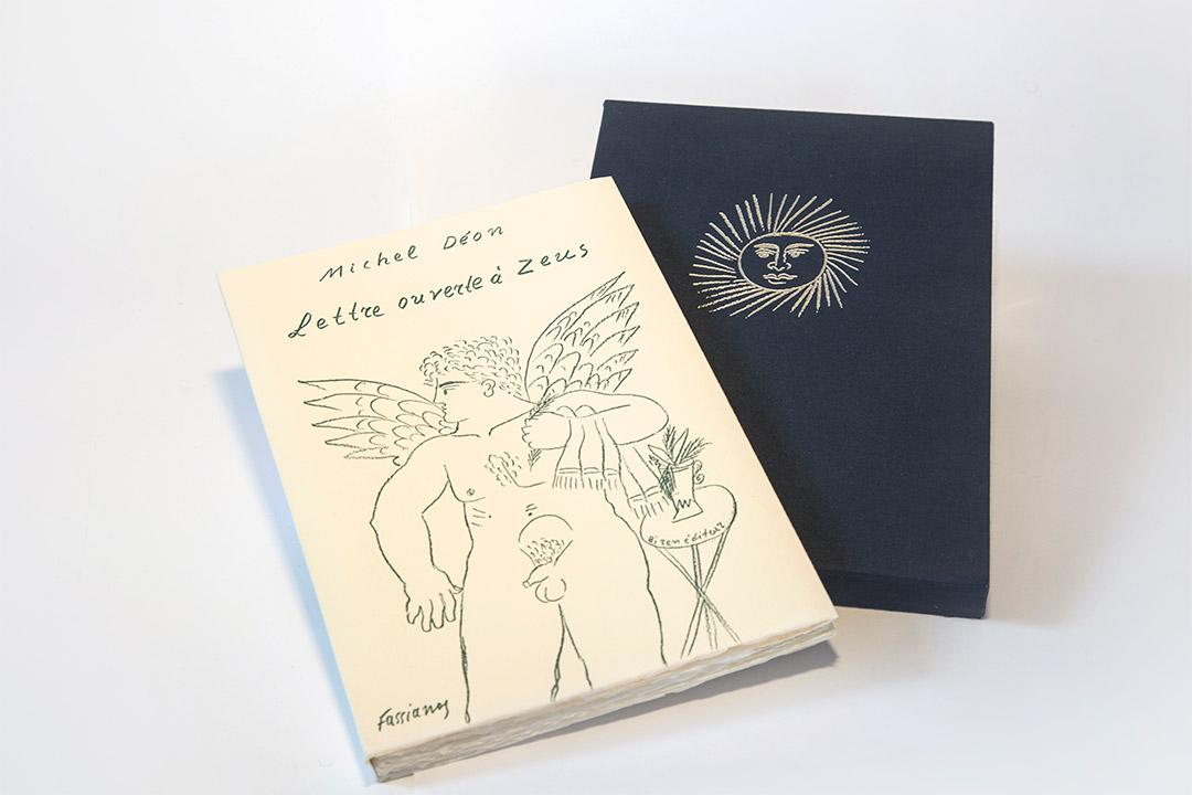 Fasianos Alekos-Lettre ouverte à Zeus