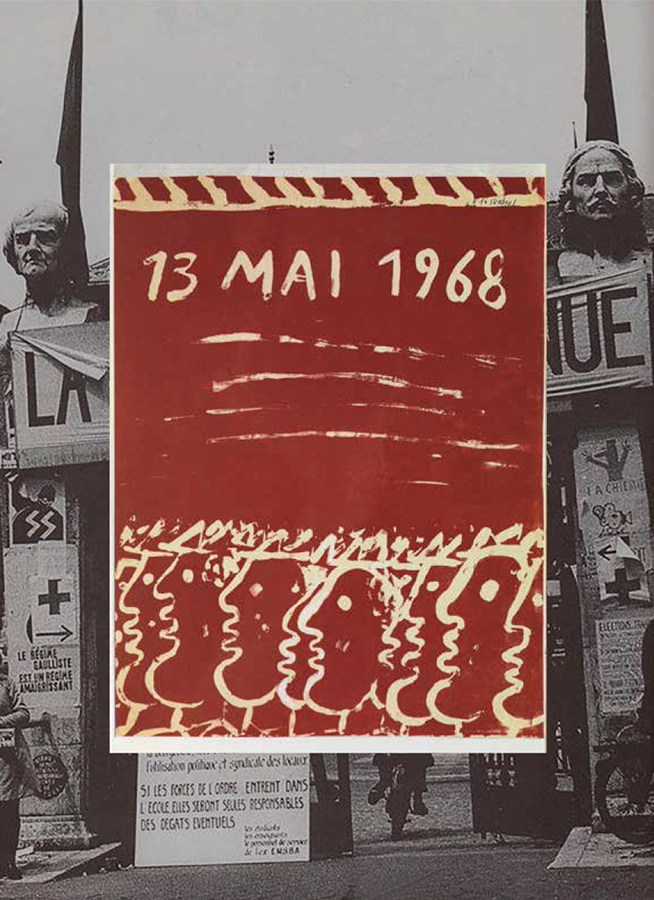 Fasianos Alekos-Poster for the events of May 1968